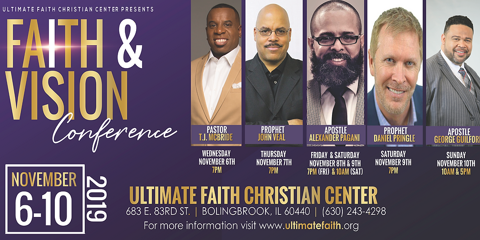 Faith & Vision Conference 2019