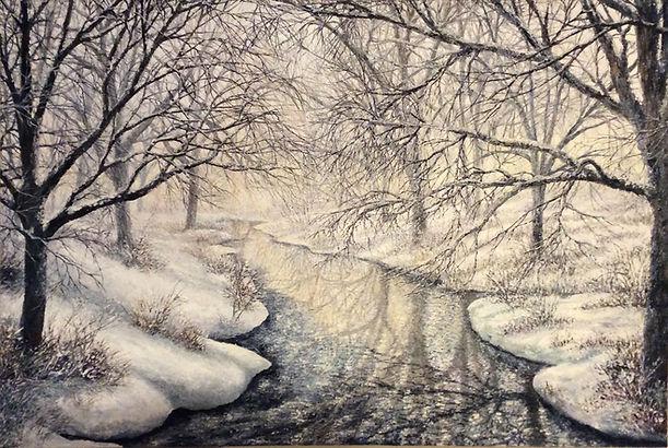 Winter Creek Canvas Painting copy.jpg