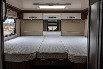 Tylne łóżko