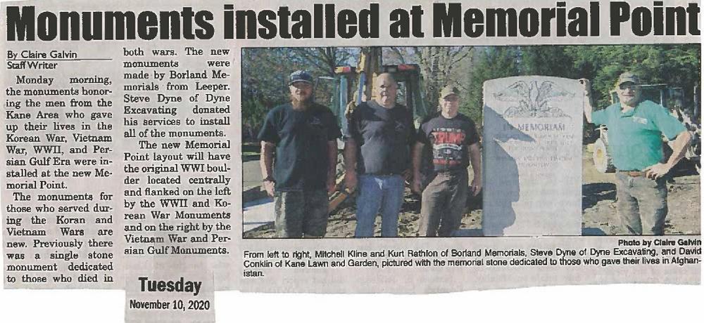 memorial point, veterans park, veterans memorial