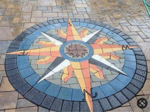 The PAVERART Compass Rose Paver Kit Collection:  Endless Possibilities & New Versions......
