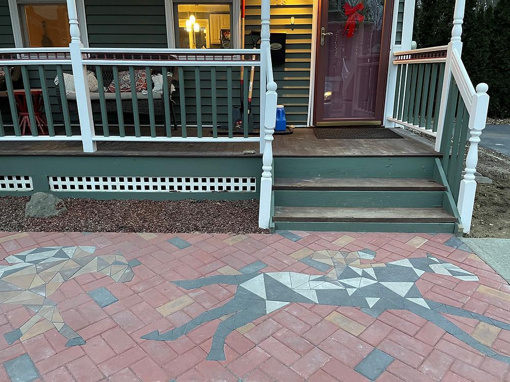 paverart, custom pavers, landscape design, landscape architecture