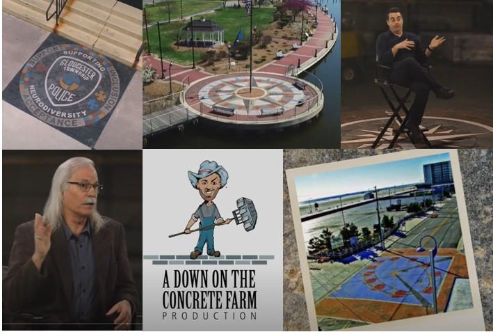 Paverart, EP Henry, landscape architect, landscape architecture, outdoor living, compass rose, hardscape design