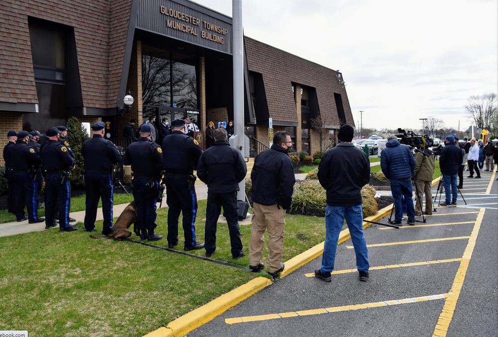Police department, custom paver memorial, neurodiversity