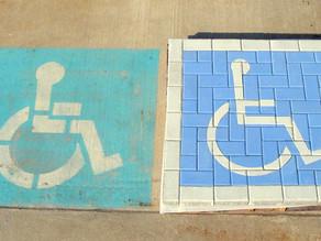 The PAVERART Handicap Parking Kit