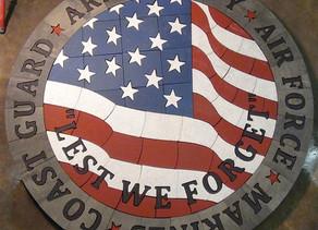 "Memorial & Patriotic Designs:  ""Lest We Forget"" & ""Proud To Be American"""