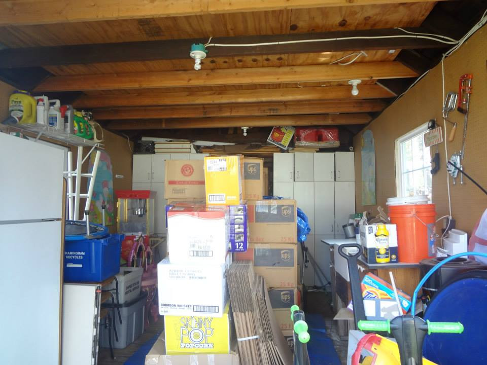 Shed, man cave