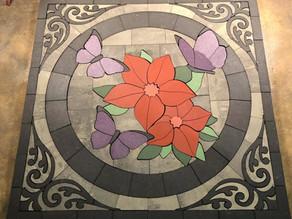 The PAVERART Custom Floral Design Comes to Life