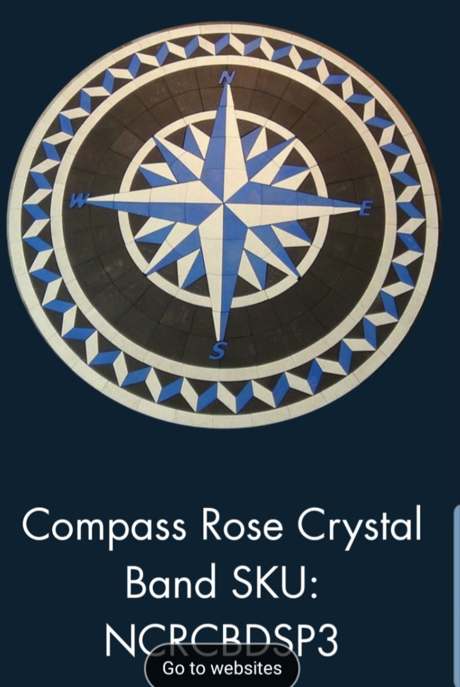 Paverart, inlay, patio inlay, outdoor living, landscape design, customized pavers, patio inlay, compass rose, compass rose paver kit, paverart compass rose