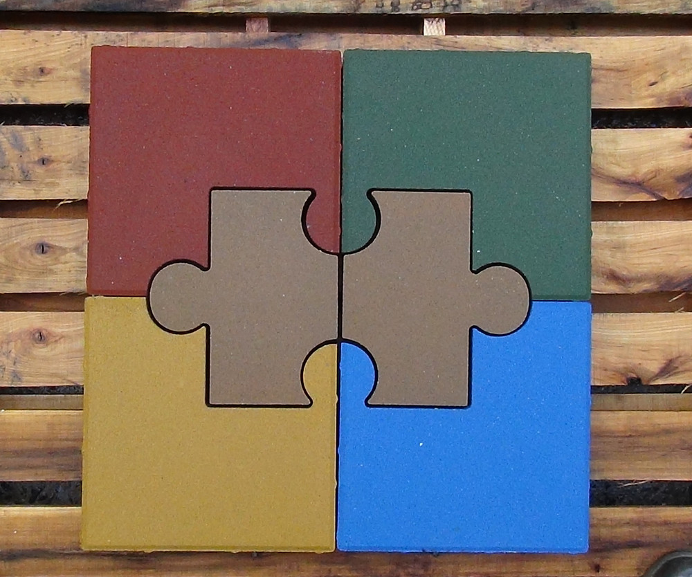 PAVERART, inlay, autism awareness, outdoor living, landscape design