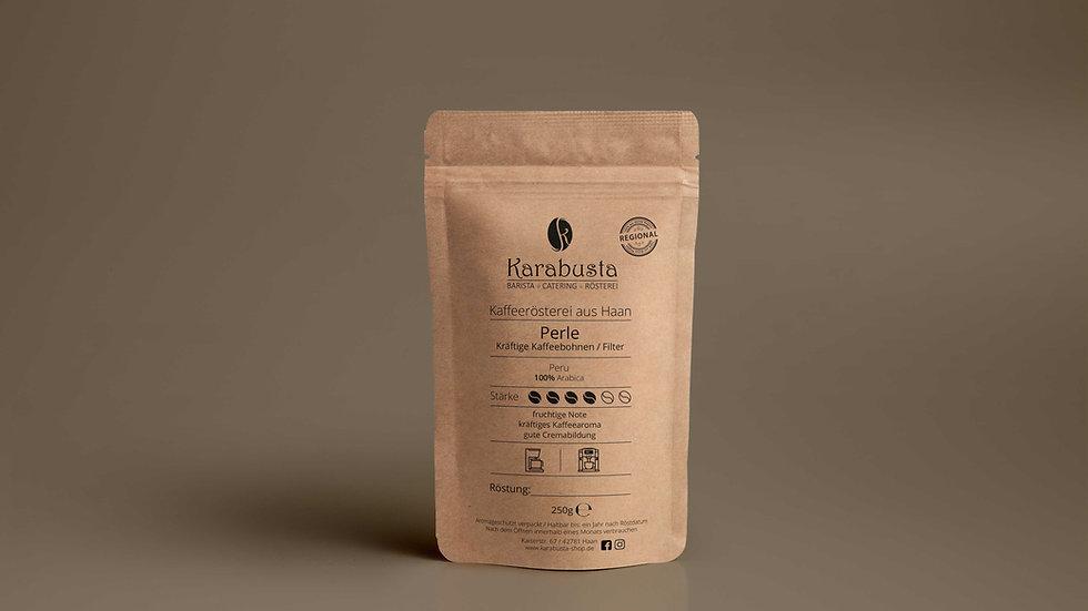 Kaffee/Filter Bohne PERLE  aus Peru100% Arabica