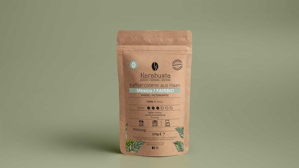 Kaffee/Filter Bohnen aus MEXICO 100% FairBio