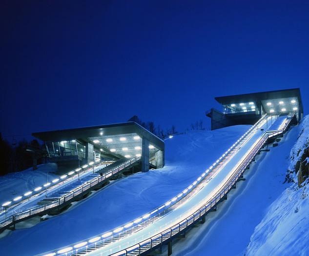 Salt Lake City 2002 Winter Olympics Ski Jumps