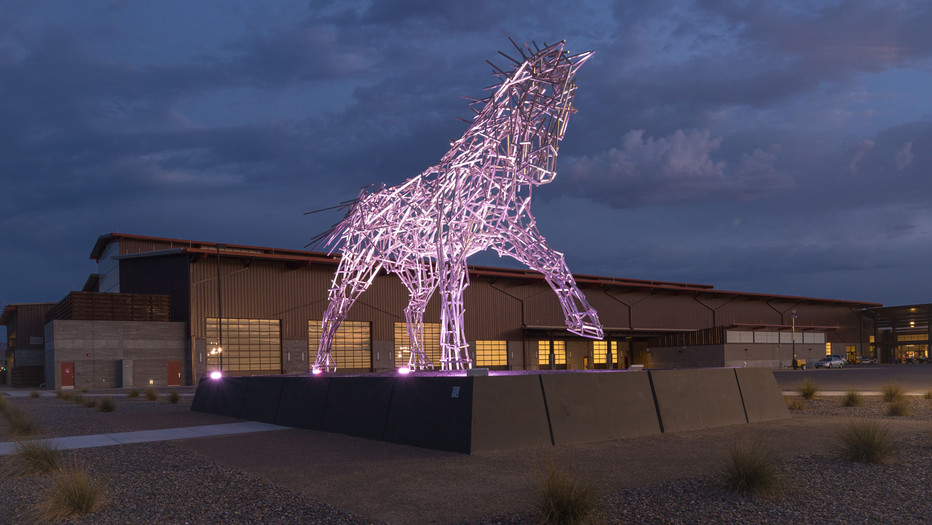 Impulsion Sculpture at Westworld