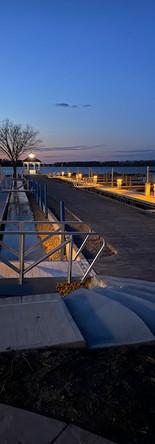 Safe Harbor Marina at Night