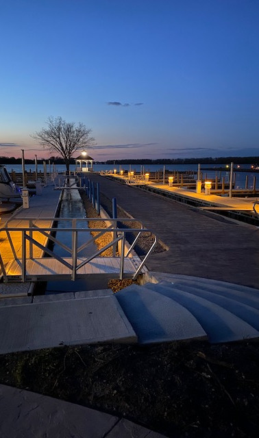 Safe Harbor Marina at Night