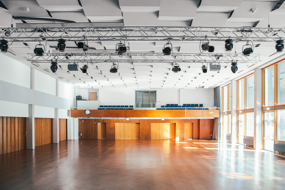 Architektur Architekturfotografie Licht Konzerthaus Bowlingbahn Fotografie Foto Fotograf Auftragsfotograf Philipp Löffler Loeffler - München