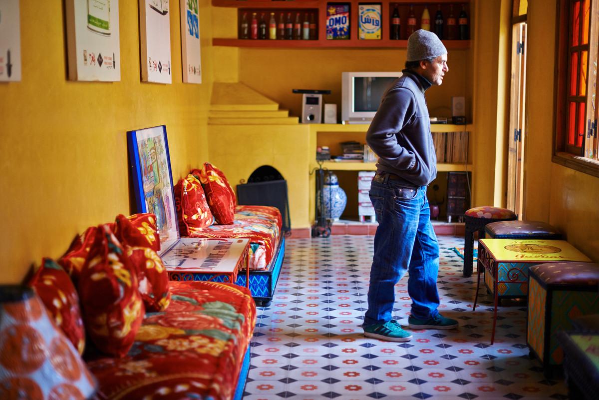 Hassan Hajjaj Künstler Designer Marokko Marrakesch Farben Dokumentation Dokumentationsfotografie Fotografie Foto Fotograf Auftragsfotograf Philipp Löffler Loeffler - München