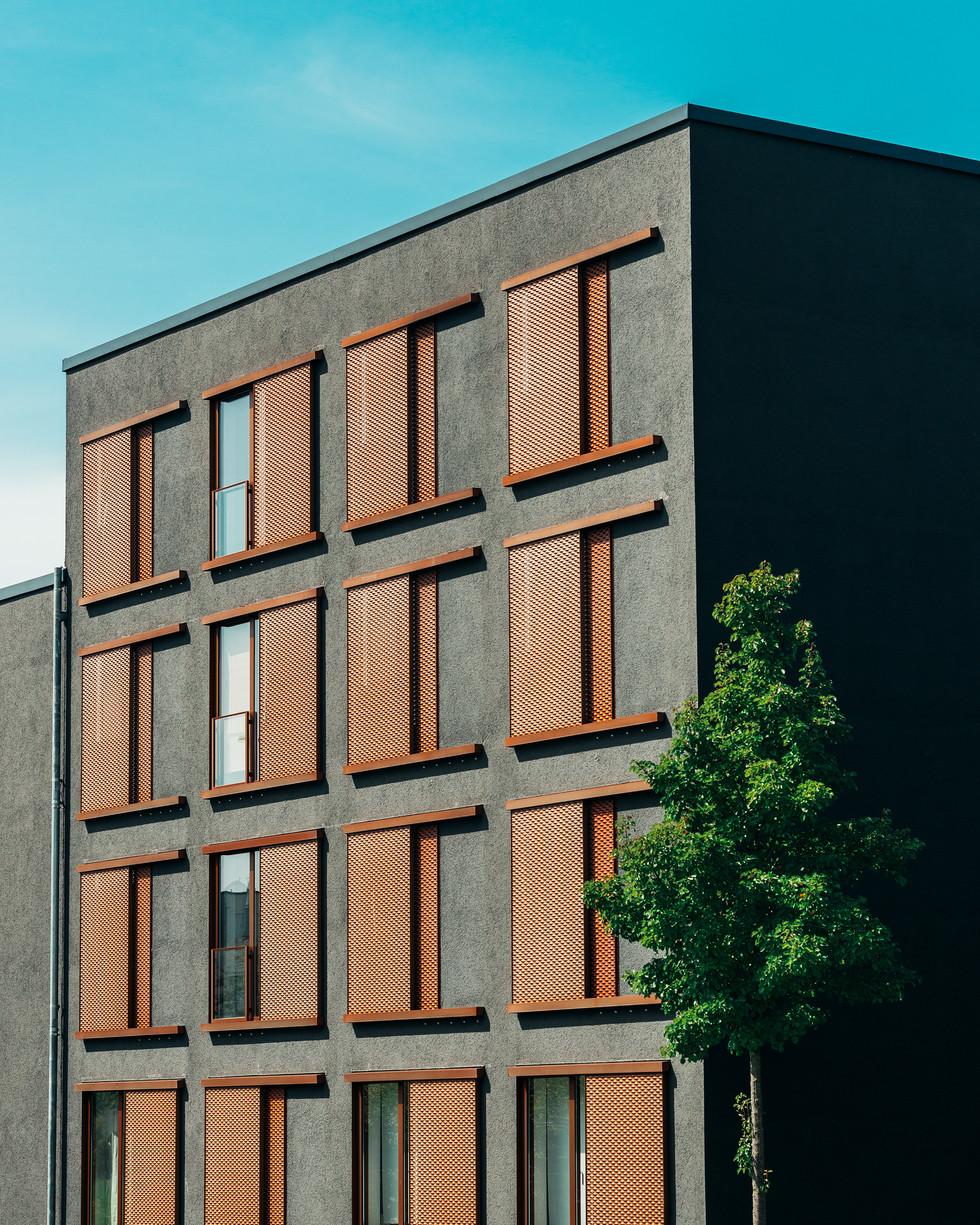 Architektur Architekturfotografie Minimal Himmel Gebäude Fotografie Foto Fotograf Auftragsfotograf Philipp Löffler Loeffler - München