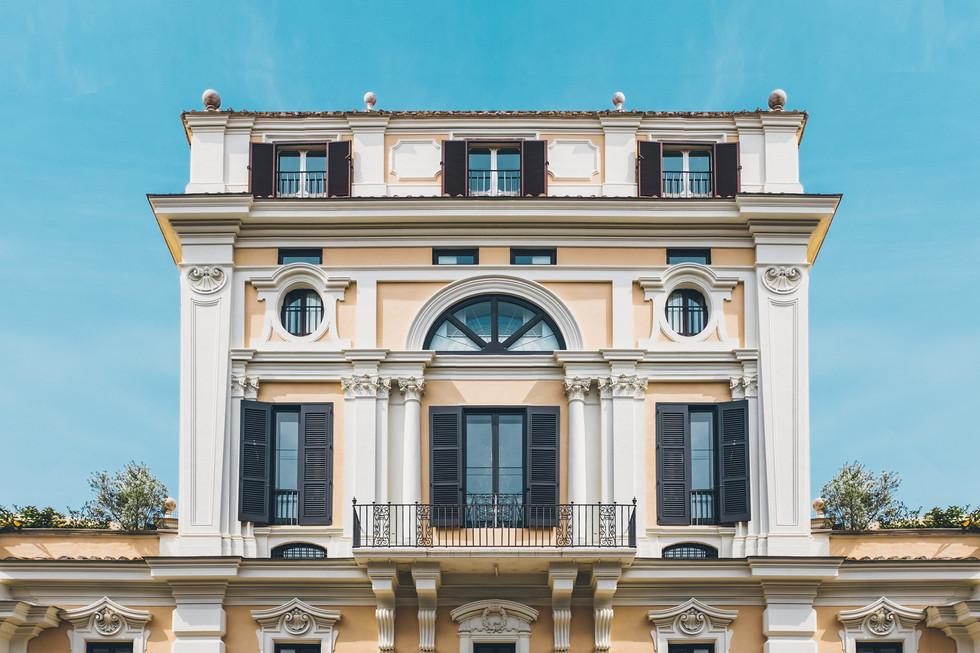 Rom Italien Architektur Architekturfotografie Strasse Farben Fotografie Foto Fotograf Auftragsfotograf Philipp Löffler Loeffler - München