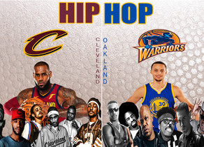CLEVELAND (CAVS) VS GOLDEN STATE (WARRIORS) RAP BATTLE