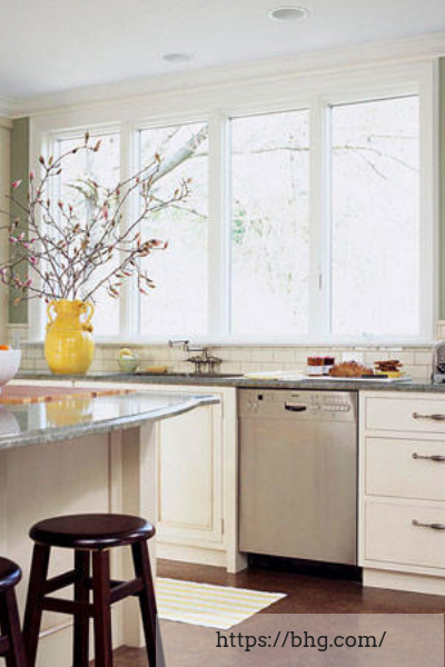 kitchen windows green kitchen design ideas