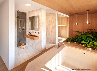 Bathroom Design for 2020: Wood Bathtubs