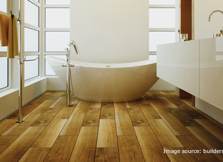 Hot Trends: Wood-Look Tile for Your Kitchen or Bathroom Remodeling Project