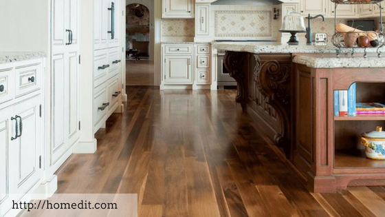 solid wood flooring kitchen floor options