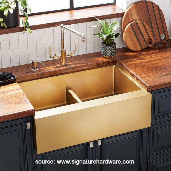 Atlas Double-Bowl Farmhouse Sink