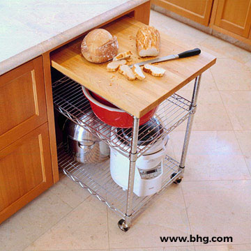 Roll-Out Storage Cart