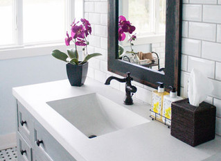 "Why we love the ""living finishes"" trend in kitchen & bathroom faucets"