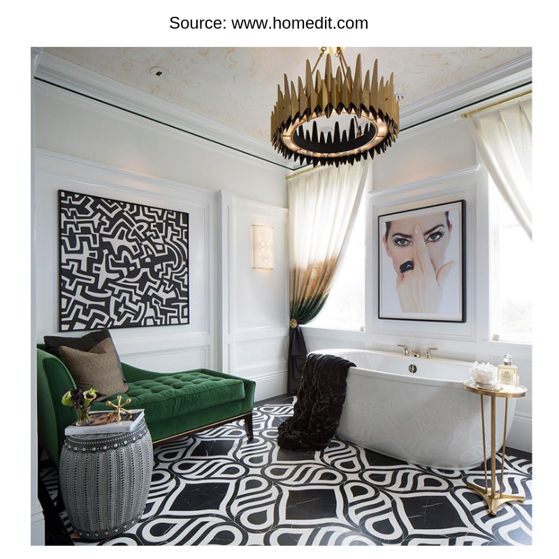 Bathrooms that are living rooms