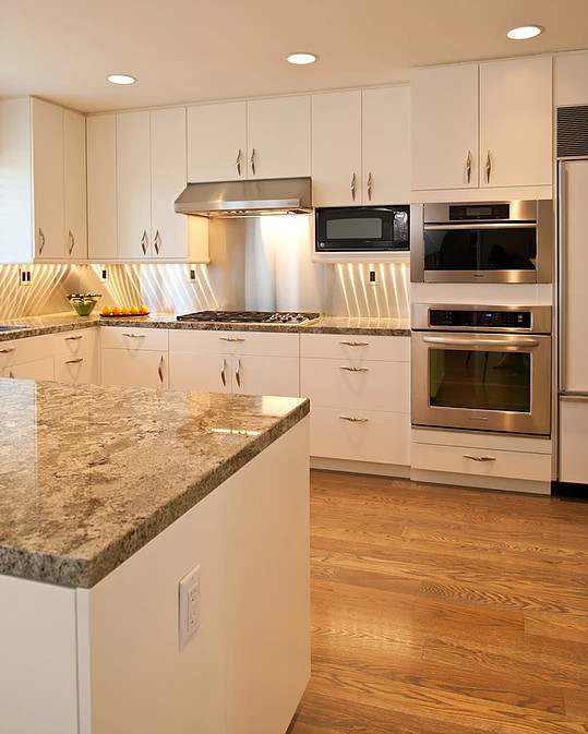 resealing granite countertops in the kitchen