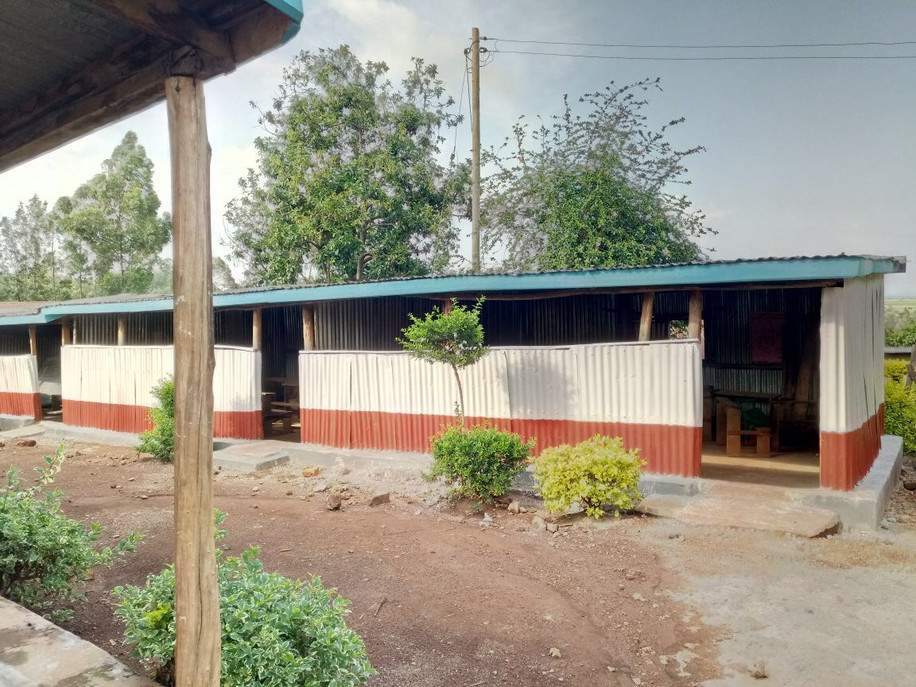 Classrooms repainted 2018