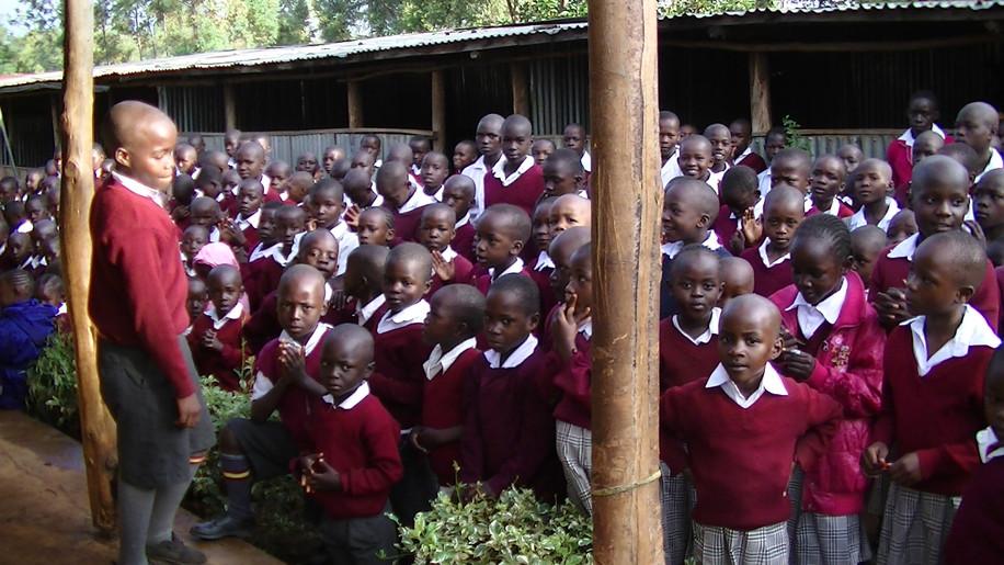 School leader addresses assembly