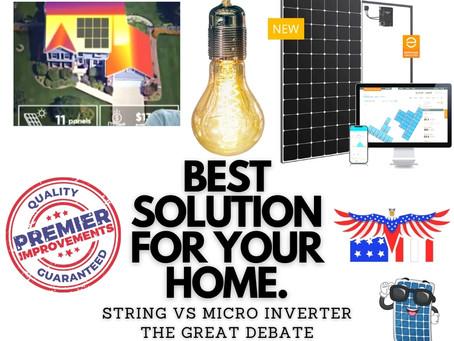 The Great Debate Solar MicroInverter vs. Power Optimizer I PremierImprovementsOne.com