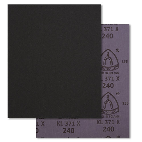Pliego de lija para metal KL371X Klingspor