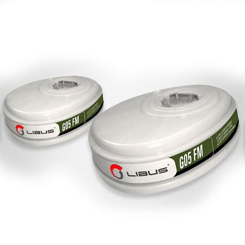 Kit Cartuchos G05 FM p/Respirador L-9000