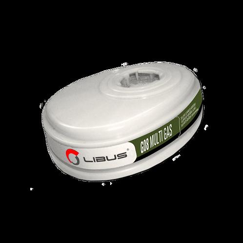 Kit Cartuchos G08 MULTI GAS p/Res L-9000