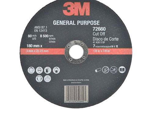 Discos de Corte 3M Propósito General