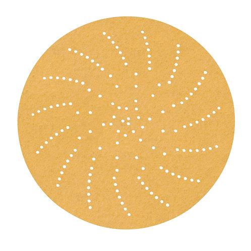 Discos de lija Velcro (Hookit) 236U de 6in con aspiración