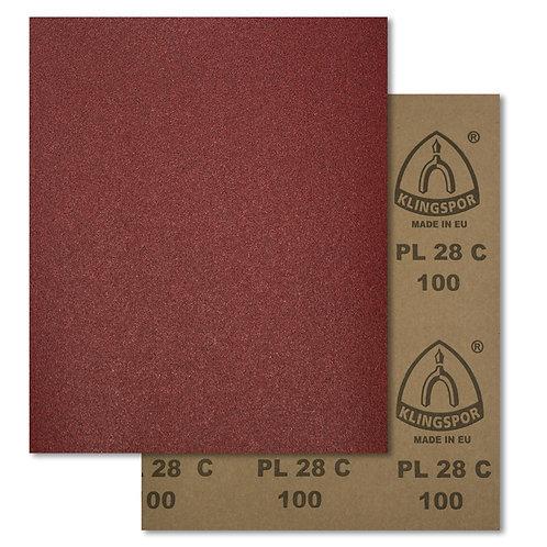 Pliego de lija para madera PL28C Klingspor