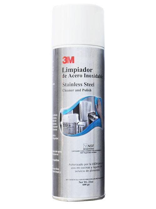 Spray limpiador y pulidor acero inoxidable 14002 3M