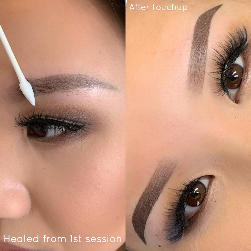 Ombré Powder Brows Touch Up