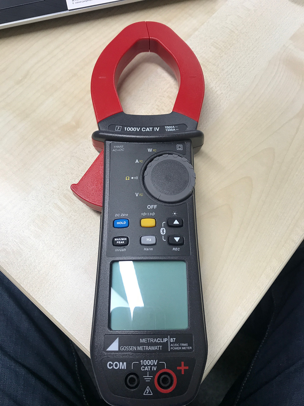 Messgerät für Gleichspannung Photovoltaik