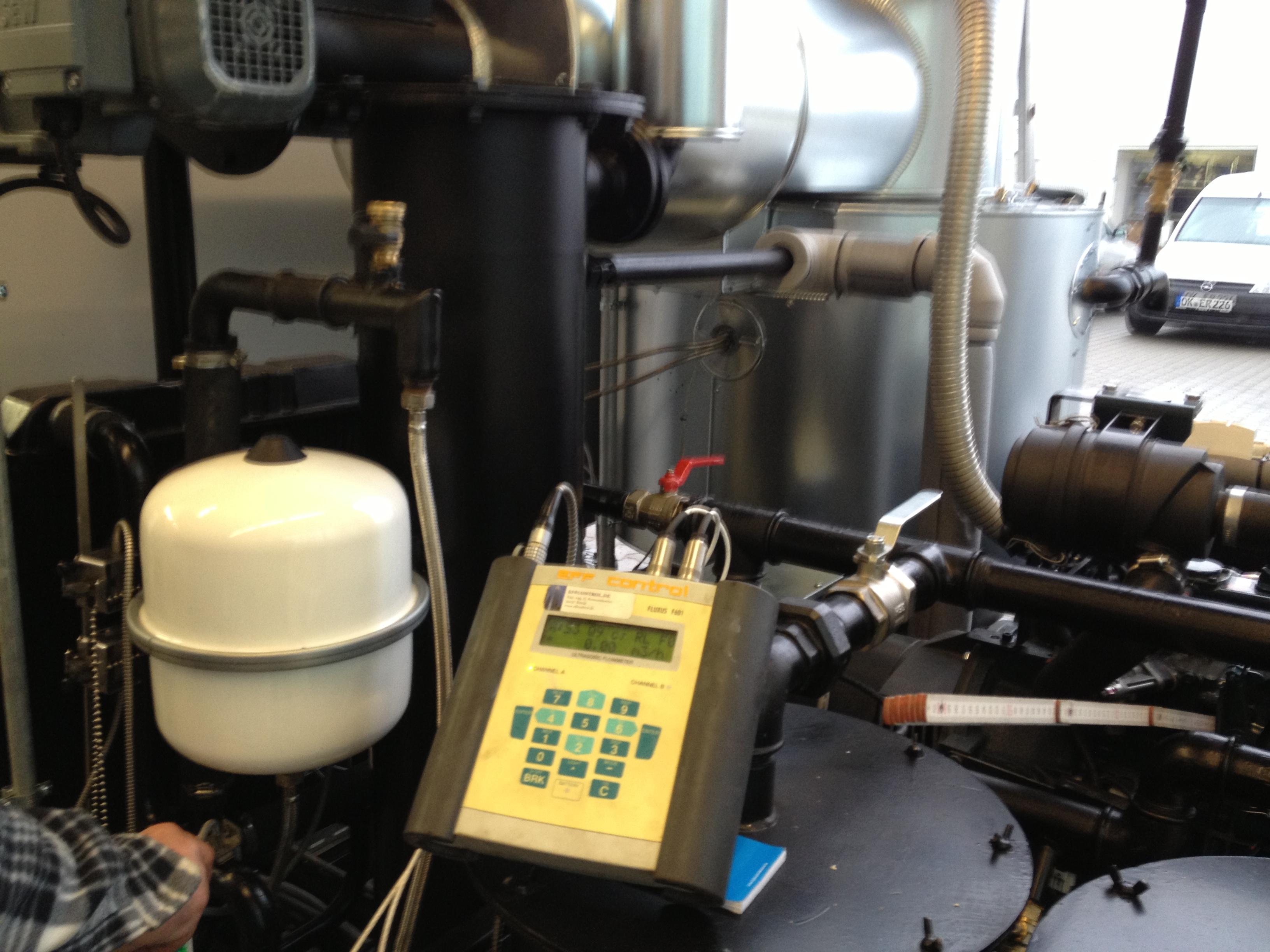 Wärmemengenmessung in BHKW-Anlagen