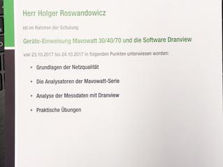 Seminar Netzqualitätsmessungen Powerquality bei GMC Instruments Nürnberg 24.10.2017