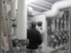 Wärmeverteilung für ein Möbelhaus 6.000 m²