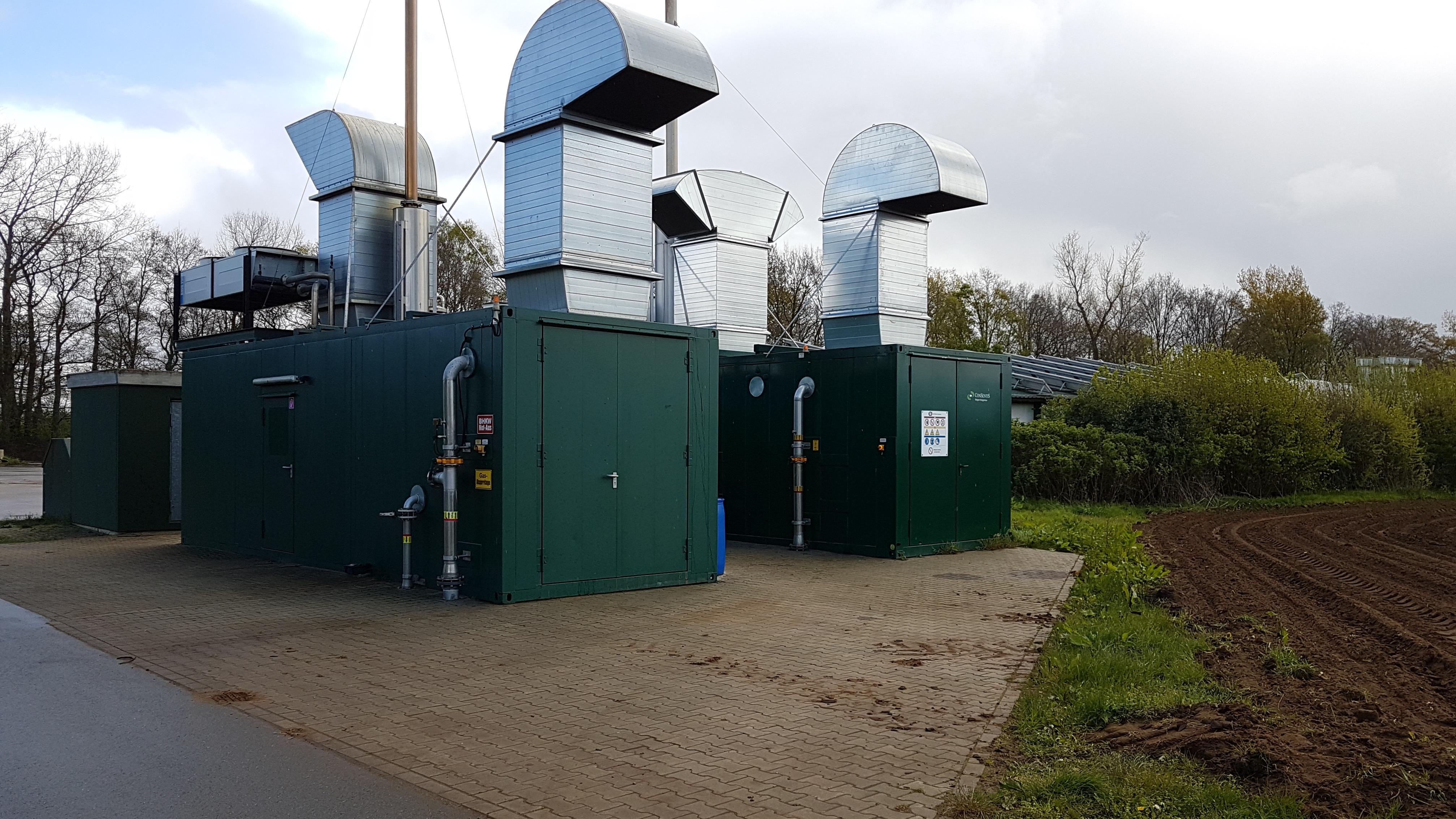 Energiemanagement mit Langzeiterfassung am BHKW_Blockheizkraftwerk